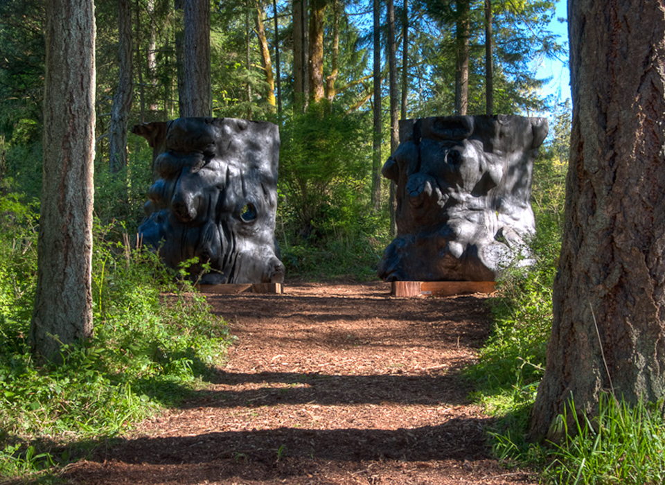 Artwork at the Duthie Gallery Sculpture Park
